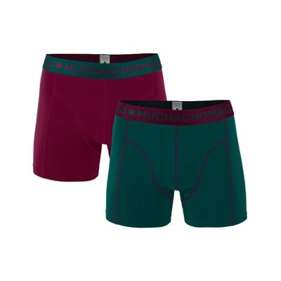 Muchachomalo 2-pack Heren boxershorts Solid 194