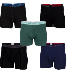 5-pack Giovanni Heren boxershorts assorti