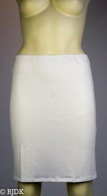 JC Dames onderrok kort (50cm) Wit