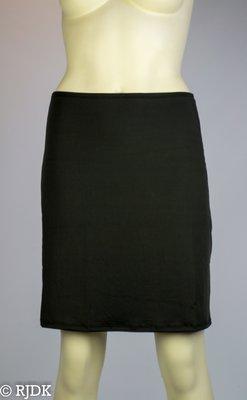 JC Dames onderrok kort (50cm) Zwart