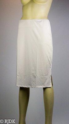 JC Dames onderrok lang (65cm) Wit