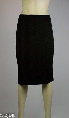 JC Dames onderrok lang (65cm) Zwart