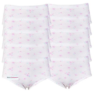 Beeren 10-Pack Dames tailleslip Rosa Blauw/Roze