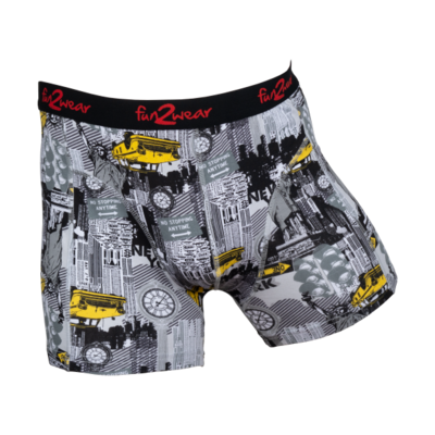 Fun2Wear Jongens boxershort Big City