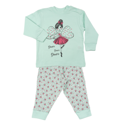 Fun2Wear Kinder pyjama Dance Princess Mint