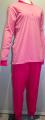 Lunatex Dames pyjama Jersey Roze