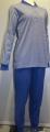 Lunatex Dames pyjama Jersey Marine