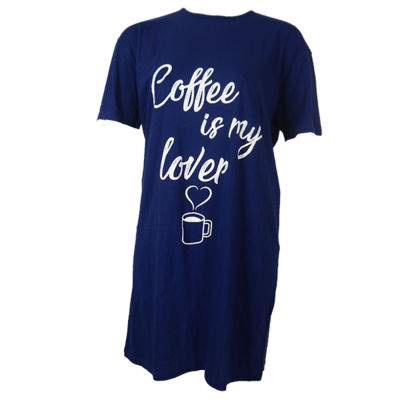 Fun2Wear Big shirt Coffee
