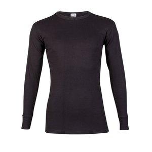 Beeren Heren shirt met lange mouw M3000 Zwart