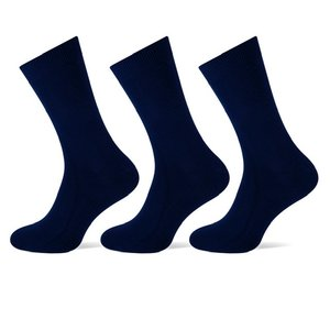 Teckel 3-Pack heren sokken Marine