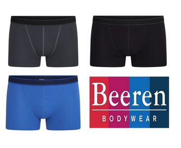 Beeren 3-Pack Heren boxershorts B.Y. Sven ass