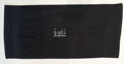 10 Pack Wellness Handdoeken 90x45cm Zwart
