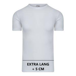 Beeren Extra lang heren T-shirt met O-Hals M3000 Wit