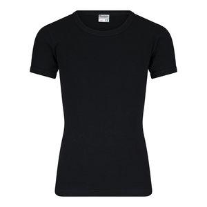 Beeren Jongens T-shirt met O-Hals en K.M. M3000 Zwart