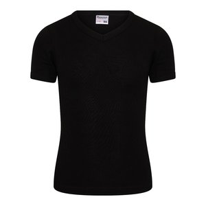 Beeren Jongens T-shirt met V-hals en K.M. M3000 Zwart