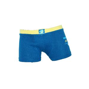 Active Plus Jongens boxershort Donkerblauw/Geel