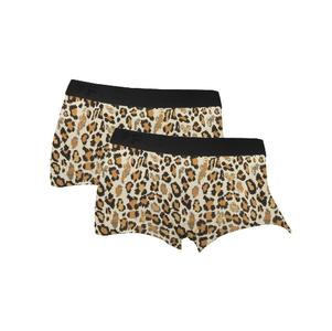 2-Pack Fun2Wear Dames boxershorts Animal Wheat