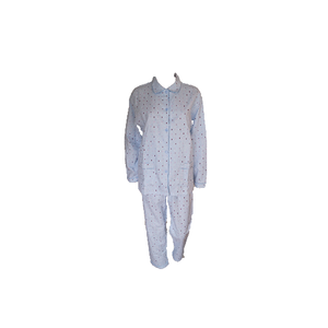 Cocodream Flanel Pyjama Tree Blauw