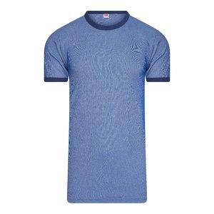 Beeren Heren Hemd K.M. M2000 Blauw