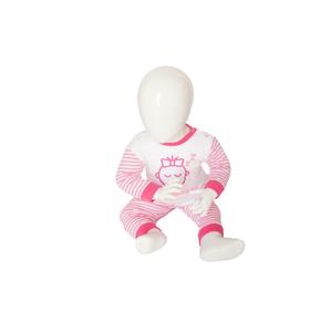 Beeren Baby pyjama M3000 Do not Disturb Roze