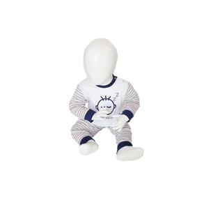 Beeren Baby pyjama M3000 Do not Disturb Grijs