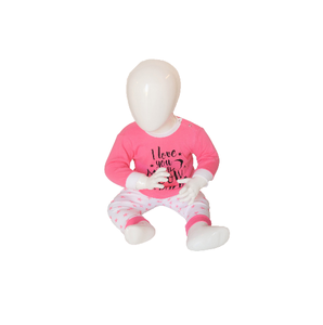 "Beeren Baby pyjama ""To the Moon"" Roze"