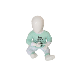 "Beeren Baby pyjama ""To the Moon"" Mint"