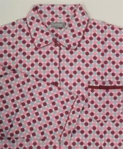 Cocodream Flanel Pyjama Dots Roze