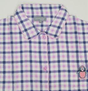 Cocodream Flanel Pyjama Blocks Roze