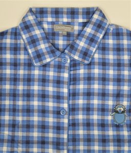Cocodream Flanel Pyjama Blocks Blauw