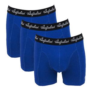 3-Pack Australian Heren boxershorts Donkerblauw