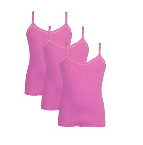 Beeren 3-Pack Meisjes hemden Lilly Roze