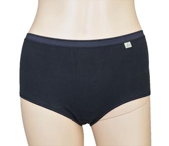 3-pack Lunatex dames Maxi slips (Taille) Zwart