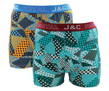J&C 2-pack Heren boxershorts H230-30040