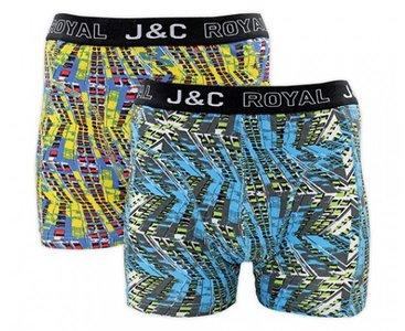 J&C 2-pack Heren boxershorts H229-30037