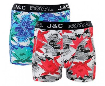 J&C 2-pack Heren boxershorts H228-30035