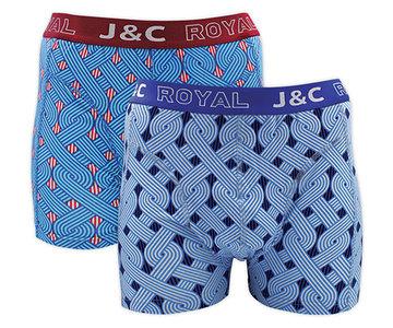 J&C 2-pack Heren boxershorts H231-30042