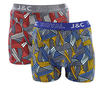 J&C 2-pack Heren boxershorts H233-30045