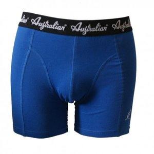 Australian Heren boxershort Donkerblauw met zwarte band
