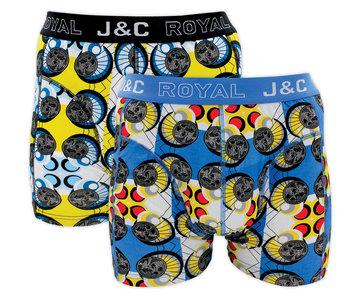 J&C 2-pack Heren boxershorts H222-30022