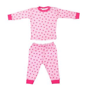 Beeren Baby pyjama ster Roze