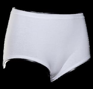 Lunatex dames Maxi slip (Taille) Wit